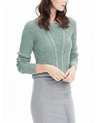 Banana Republic   Multicolor Cable Pullover Sweater   Lyst