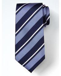 Banana Republic   Blue Classic Stripe Silk Nanotex® Tie for Men   Lyst