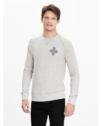 Banana Republic | Natural Waffle-knit Neps 78 Crew | Lyst