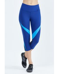 Nike | Blue Power Legend Training Capri | Lyst