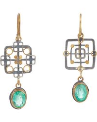Judy Geib | Metallic Emerald, Gold & Silver Double | Lyst