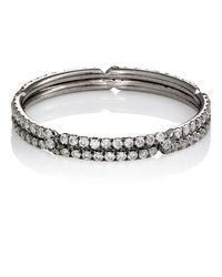 Monique Pean Atelier - Metallic Interlocking Geometric Band - Lyst