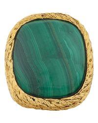 Aurelie Bidermann | Green Miki Ring Size 6 | Lyst