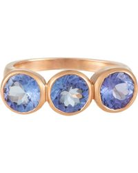 Irene Neuwirth - Blue Tanzanite Ring - Lyst