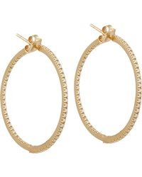 Sidney Garber - Metallic The Perfect Round Hoop Earrings - Lyst