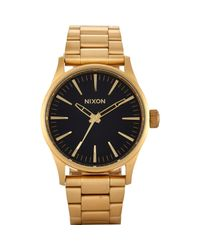 Nixon | Black Sentry 38 Ss Watch for Men | Lyst