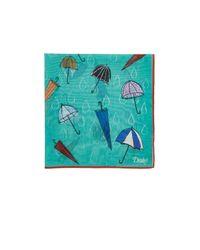 Drake's - Green Umbrella for Men - Lyst