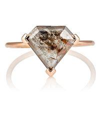 Grace Lee - Multicolor Rustic Diamond Ring Size 6 M - Lyst