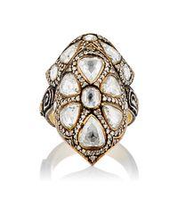 Sevan Biçakci - Multicolor White Diamond Theodora Ring Size Na - Lyst