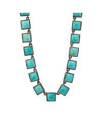 Nak Armstrong | Blue Turquoise Mosaic Long Necklace | Lyst