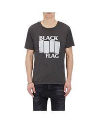 R13 - Men's black Flag T-shirt for Men - Lyst