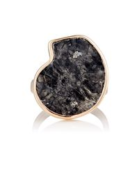 Dezso by Sara Beltran | Multicolor Fossilized Ammonite & Rose Gold Ring Size Na | Lyst