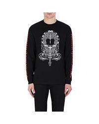 Marcelo Burlon   Black Snake-print Long-sleeve T for Men   Lyst
