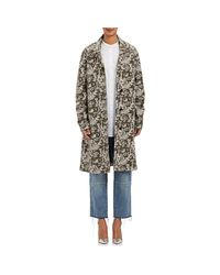 Robert Rodriguez - Green Floral Embroidered Coat - Lyst