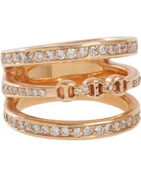 Hoorsenbuhs - Metallic Diamond & Rose Gold asset Ring - Lyst