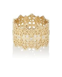 Grace Lee - Metallic Lace Crown Ring - Lyst