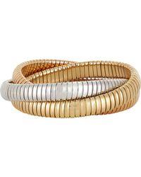 Sidney Garber - Metallic Rolling Bracelet - Lyst