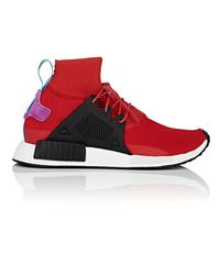 3800009ee2af Lyst - adidas Nmd Xr1 Winter Sneakers in Red for Men