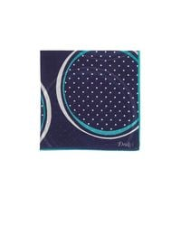 Drake's - Blue Dotted Circle for Men - Lyst