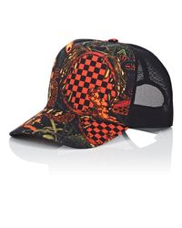 Givenchy - Black Mesh & Twill Trucker Hat for Men - Lyst