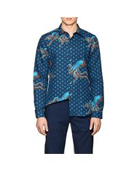 PS by Paul Smith - Blue Cotton for Men - Lyst
