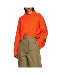 J.W. Anderson - Multicolor Wool-cashmere Crop Sweater - Lyst