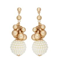 Kenneth Jay Lane - Metallic Imitation-pearl - Lyst