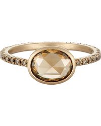 Anaconda | Metallic Mixed Diamond Ring | Lyst