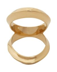 Maiyet - Brown Double Open Arch Ring - Lyst