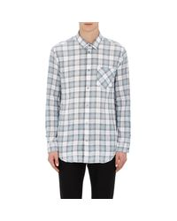 Marc By Marc Jacobs | Gray Plaid Stanley Shirt for Men | Lyst