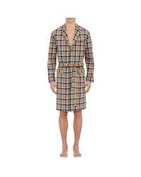Sleepy Jones | Brown Plaid Adams Robe for Men | Lyst