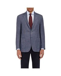 Canali - Blue Kei Houndstooth Two for Men - Lyst