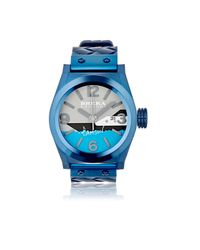 Brera Orologi - Blue Eterno Solotempo Watch - Lyst
