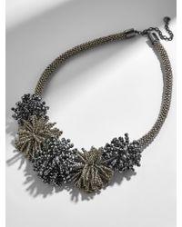 BaubleBar - Gray Riviera Statement Necklace - Lyst