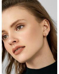 BaubleBar - Multicolor Stretto Everyday Fine Huggie Hoop Earrings - Lyst