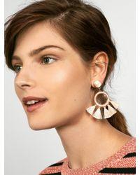 BaubleBar - Multicolor Tambourine Hoop Earrings - Lyst