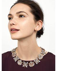 BaubleBar - Multicolor Crystal Bouquet Statement Necklace - Lyst