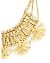 BaubleBar - Metallic Azra Statement Necklace - Lyst