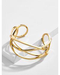 BaubleBar - Metallic Shavonne Cuff Bracelet - Lyst