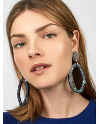 BaubleBar - Multicolor Tristana Hoop Earrings - Lyst