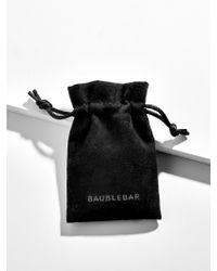 BaubleBar - Multicolor Tricolore Cubic Zirconia Bracelet - Lyst