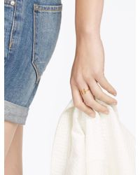 BaubleBar | Metallic Parallel Bar Ring | Lyst