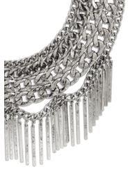 BaubleBar - Metallic Fringe Court Bib - Lyst