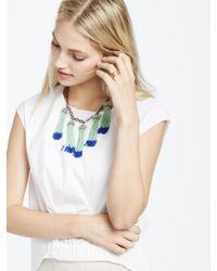 BaubleBar - Green Tropez Tassel Collar - Lyst