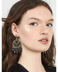 BaubleBar - Gray Chandelier Drop Earrings - Lyst