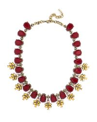 BaubleBar | Multicolor Crystal Wreath Collar | Lyst