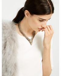 BaubleBar - Metallic Saphira Collar - Lyst