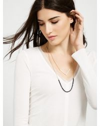 BaubleBar - White Sea Bead Layered Necklace - Lyst