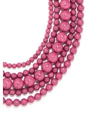 BaubleBar - Pink Globe Strands - Lyst