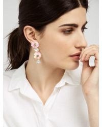 BaubleBar - White Miley Drops - Lyst